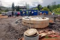 Zastupitelé města se seznamují s výstavbou ČOV 14. 5. 2020