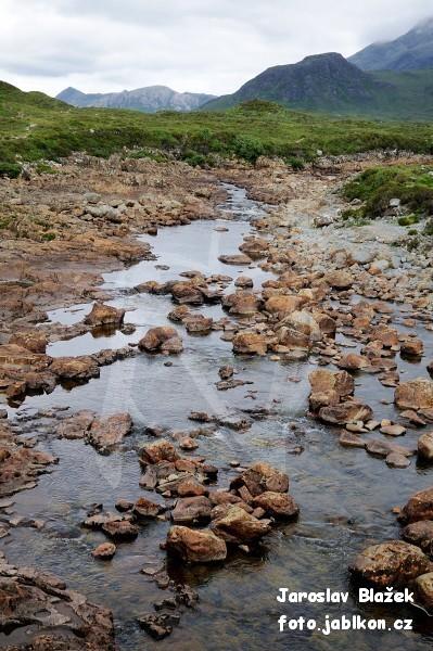 Glen Sligachan, River Sligachan, Cuilling Hills
