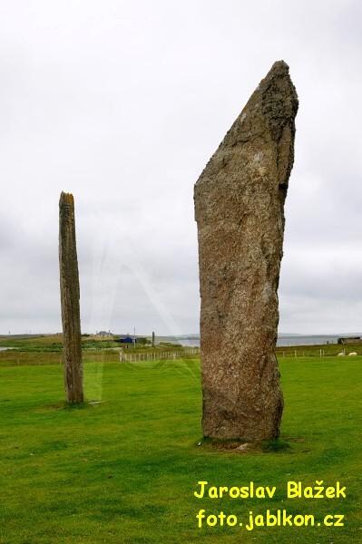 Skotsko - Standing Stones o' Stenness