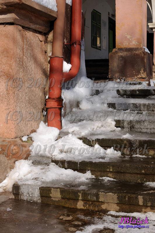 Namrzlé schody