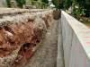 Rekonstrukce opěrné zdi