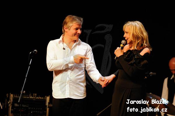 Hana Zagorová a Petr Rezek
